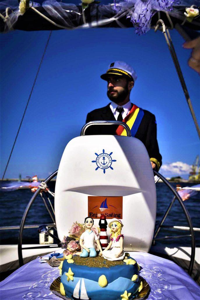 capitan casatorie pe mare